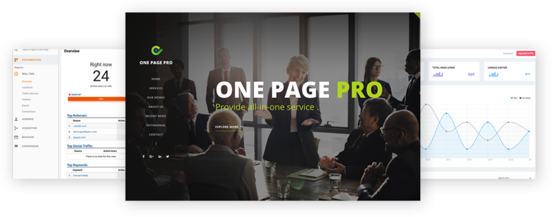 One page pro